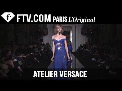 Atelier Versace Spring summer 2015 | Paris Couture Fashion Week | Fashiontv video