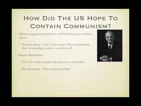 Cold war long essay apush