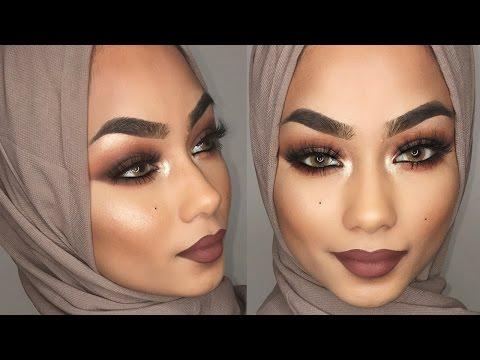 Brown smokey eye makeup tutorial   Sabina Hannan