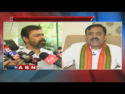 TDP MPs Counter to BJP Leader GVL Narasimha Rao | ABN Telugu