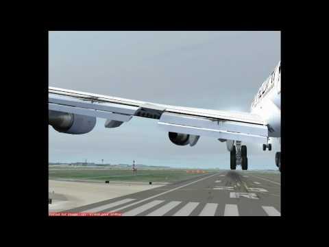Frankfurt B747 400 Lufthansa.wmv