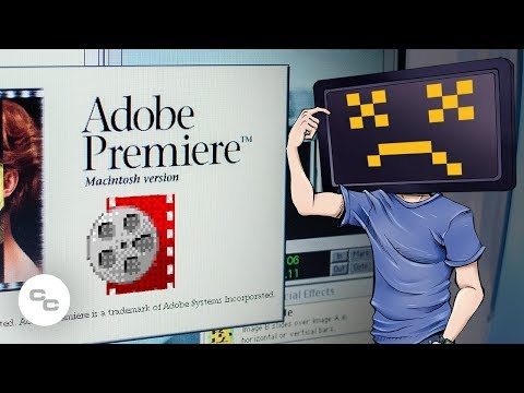 Video Editing on Adobe Premiere 1.0 (from 1991) -  Krazy Ken's Tech Misadventures