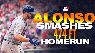 Alonso smashes 474-foot HR in Minnesota