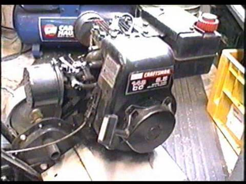 Carburetor Clean & Rebuild on 3.5 HP Tecumseh Engine Part 1 of 2