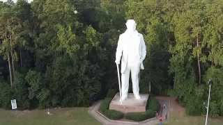 Sam Houston statue Huntsville Tx.