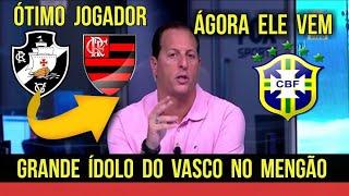 FLAMENGO FECHANDO COM EX SELEÇÃO BRASILEIRA