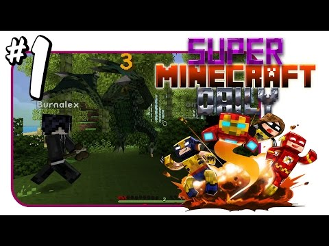 Meet your Heroes and Baby Godzilla Attacks!?   Super Minecraft Daily   Ep.1
