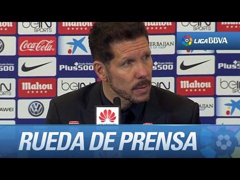"""Diego Simeone: """"Salvo al Barcelona, a todos nos cuesta"""""""