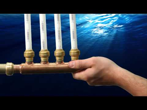 How to Install SharkBite Plumbings Quick Connect Manifolds