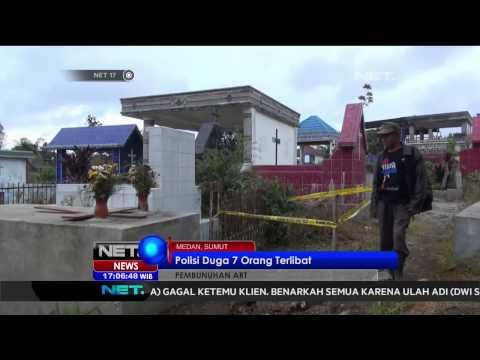 2 Anak di bawah umur hari ini didakwa terlibat kasus pembunuhan ART Medan - NET17