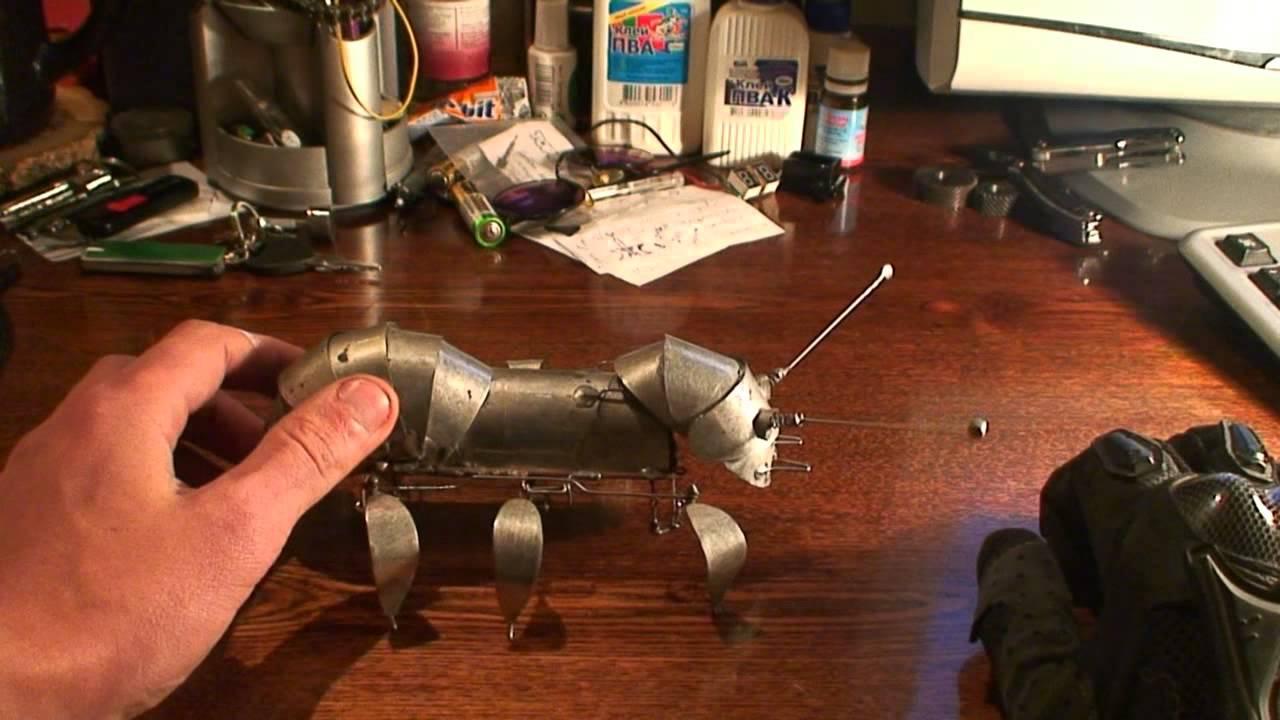 Как создать робота в домашних условиях своими руками 141