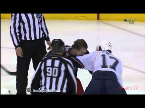 Highlights Vladimir Sobotka Goal and Fights Full HD