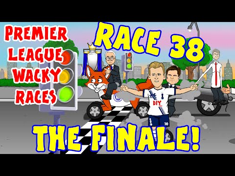🚦RACE 38🚦 The FINALE! Premier League Wacky Races! (Season Review 2015-2016 15/16)