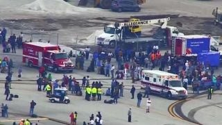 Witness describes the chaos at Fort Lauderdale Airport