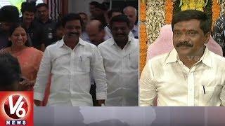 Vemula Prashanth Reddy Takes Charge As Transport, RandB And Legislative Affairs Minister