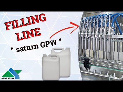 Albertina - Linear filling machine Saturn GPW AU