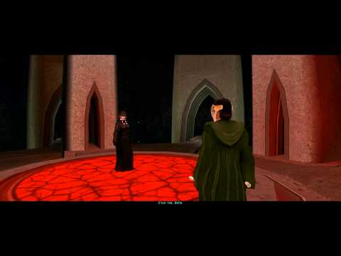 [HD] KOTOR 2 Ending - Kreia at Trayus Core (Light Side) VOSTFR
