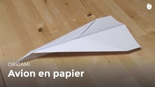 Origami : Avion En Papier - Hd