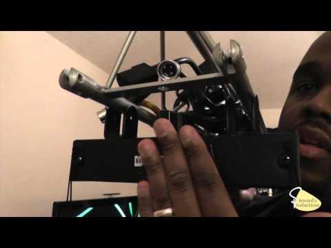 ADJ Light Bridge System, by  American DJ How to setup the Crank Truss System