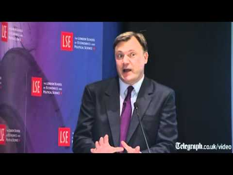 Shadow Chancellor Ed Balls calls for emergency tax cuts