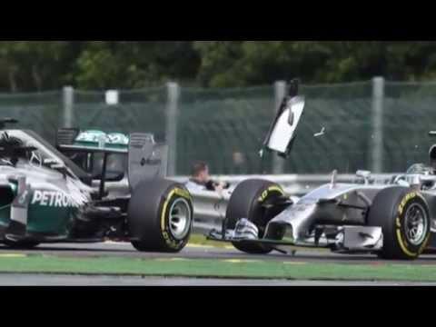 Streit zwischen Lewis Hamilton und Nico Rosberg eskaliert | Großer Preis von Belgien | Formel 1