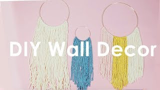 DIY Anthropologie Wall Hanging - KayleyMelissa