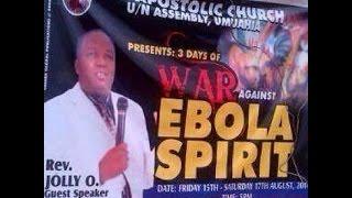 Hilarious: Stupid Naija response to Ebola