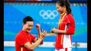 Love in air in Rio - marriage proposal after medal ceremony