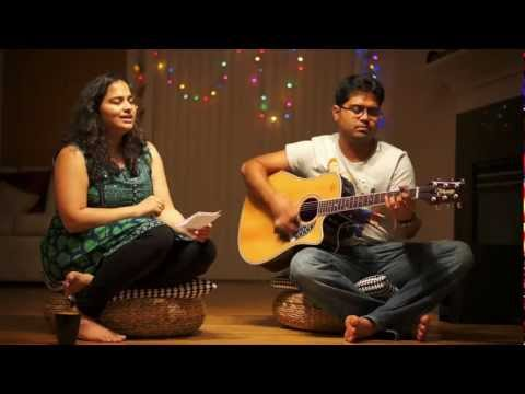 Pareshaan - acoustic cover - by Deepika & Samarth