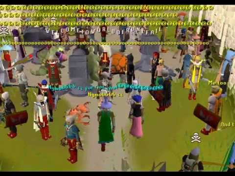 The Runescape hp/constitution riot