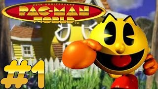 Pac-Man World (PS1) Playthrough - Part 1 - Somco Gaming