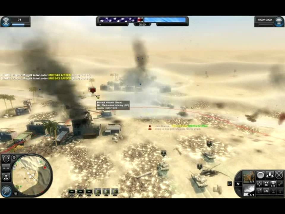 World In Conflict Domination Gameplay With Modern
