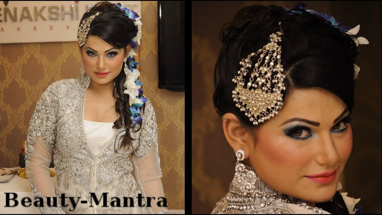 White Dress Bridal Makeup : Wedding Makeup for White Dress - Makeup Plus Hairstyle ...