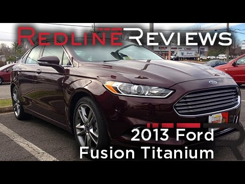 2013 Ford Fusion Titanium Review. Walkaround. Exhaust. Test Drive