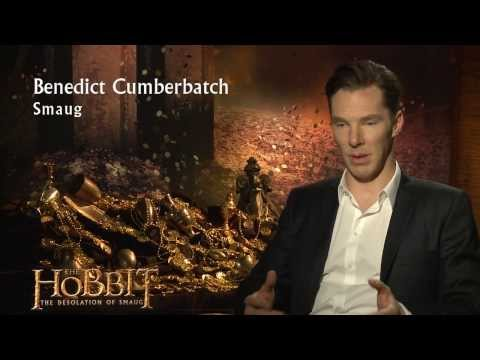 The Hobbit: The Desolation of Smaug - Cast Interviews: Smaug