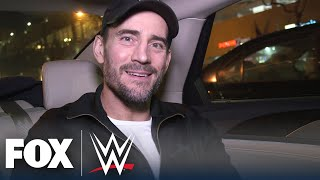 Behind the scenes with CM Punk for his stunning WWE Backstage debut | WWE BACKSTAGE | WWE ON FOX