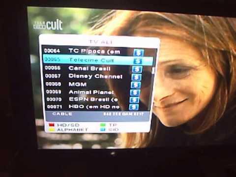 Power Net P99HD Funcionando os canais em HD