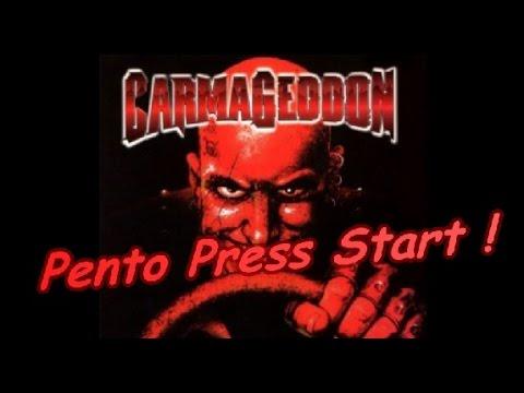 Pento Press Start : Une voiture + des piétons + humour noir = Carmageddon !