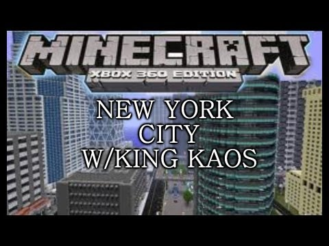 Minecraft 360 New York City W/DOWNLOAD