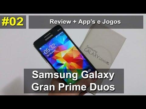 Samsung Galaxy Gran Prime Duos - Review + App´s e Jogos - Português