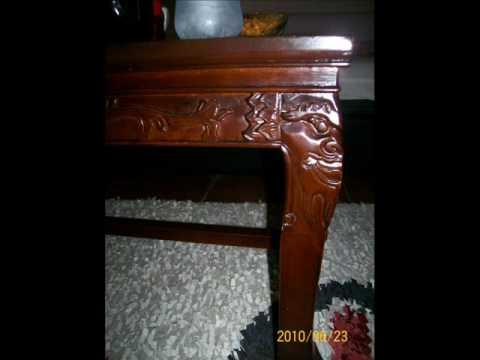 stolovi - drvo