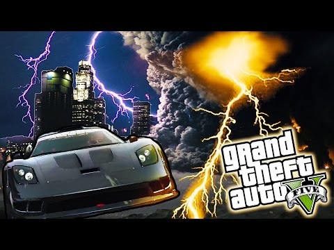 GTA 5 - TORNADO MOD - FUNNY MOMENTS - Grand Theft Auto Gameplay!