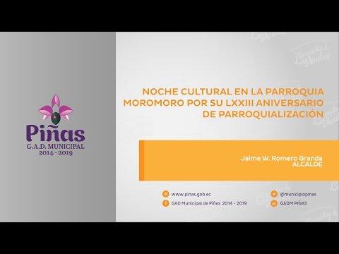 Noche cultural Moromoro 2015