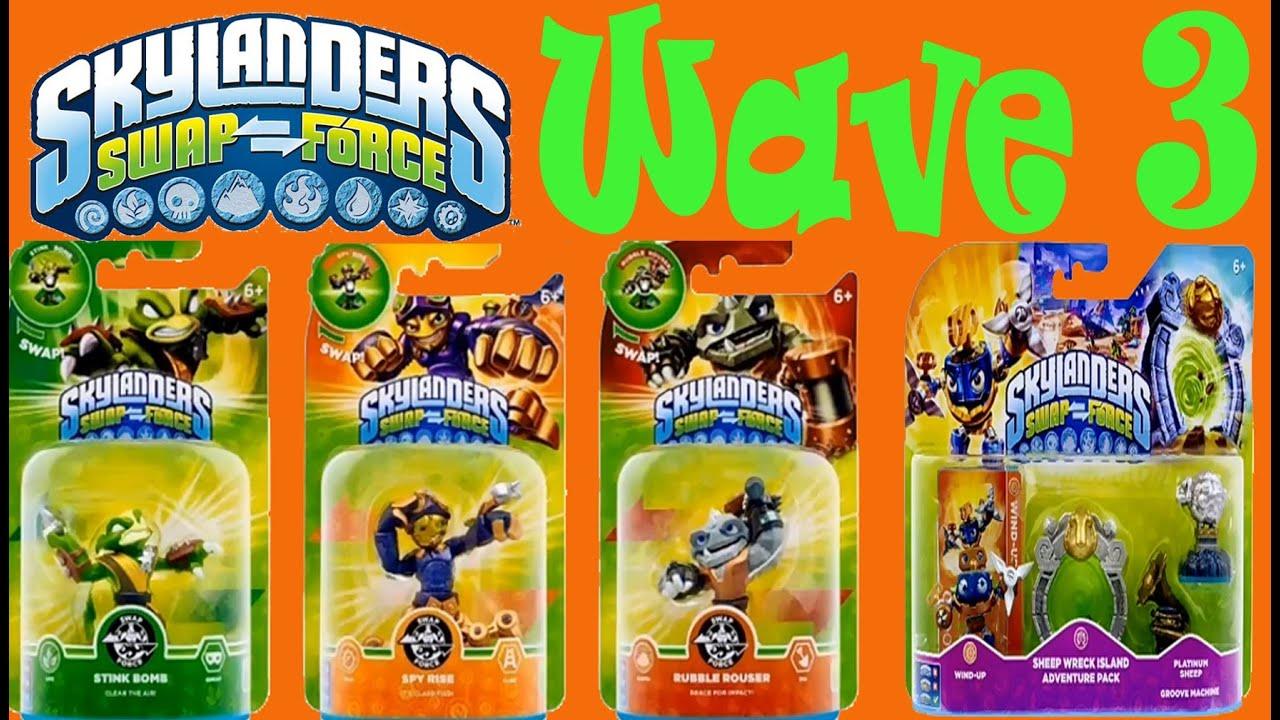 Skylanders Swap Force Wave 3 (In Package) - YouTube