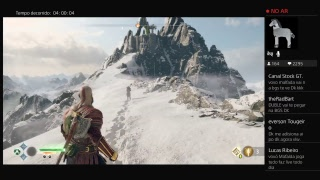 God of War AO VIVO direto do PlayStation 4 (HD)