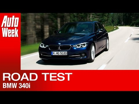 BMW 3 Series 340i [F30] facelift AutoWeek review - English subtitled