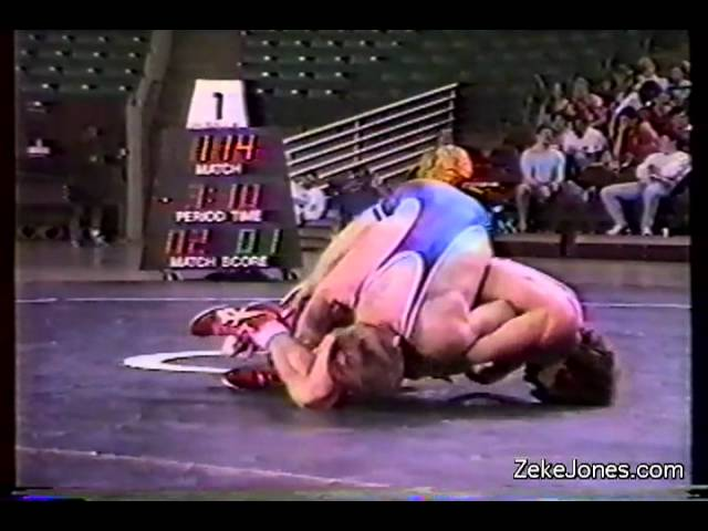 1989 U.S. Open - Zeke Jones vs. Ed Giese