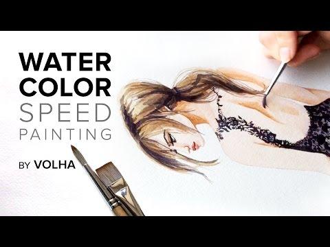 Видео как нарисовать девушку в платье