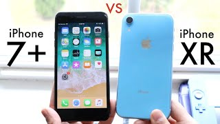 iPHONE XR Vs iPHONE 7 PLUS! (Should You Upgrade?) (Speed Comparison) (Review)