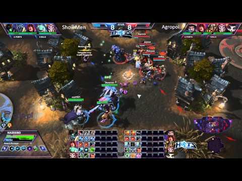 Team Showmen vs Team Agropol - Bo3 - Bohaterskie Wyzwanie #2 EmSc2Tv